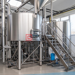 10BBL Customized Superior Dampfbeheizte automatische Bierbrauanlage Kosten in China