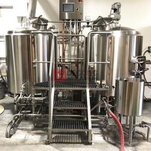 1000L Industrial Automated 2-Schiff Craft Beer Brewing Equipment zum Verkauf
