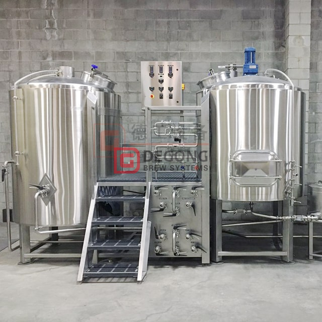 500L Customized Complete Insulated Edelstahl Conical Beer Brewing System Hersteller