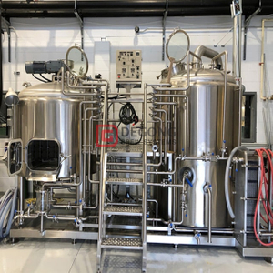 500L Craft Beer Machine Edelstahl-Brausystem Micro Brewery Equipment Hot Sale